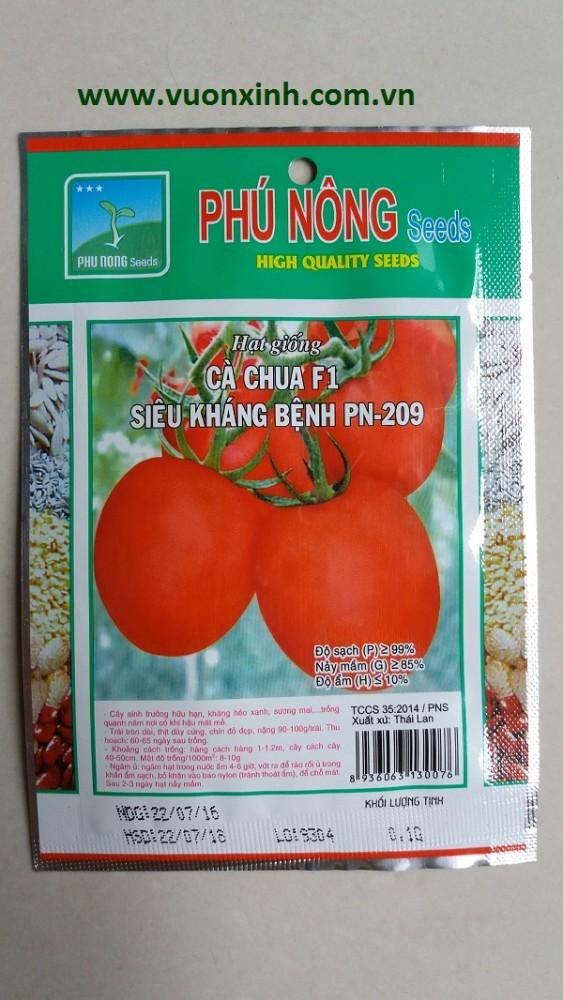 Cà chua F1 siêu kháng bệnh PN-209