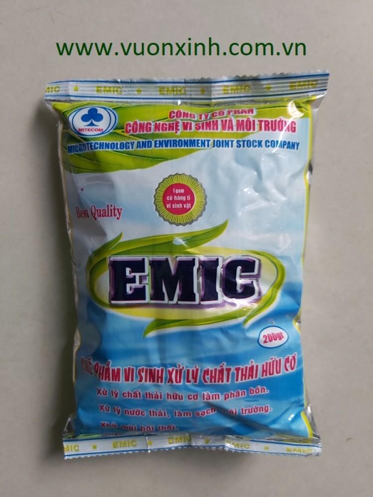 Chế phẩm ủ phân hữu cơ EMIC 200gr