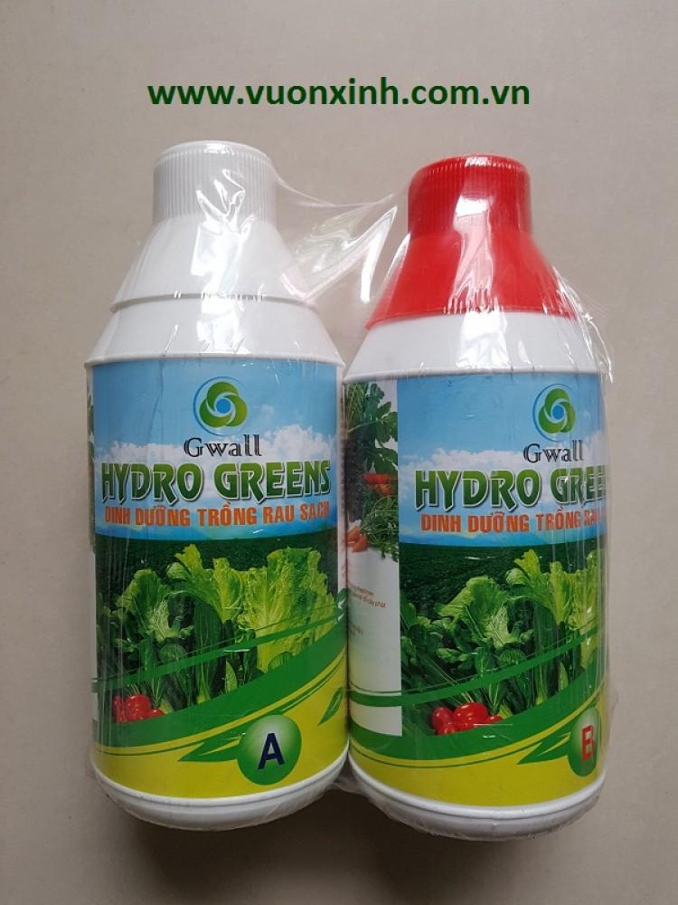 Dinh dưỡng trồng rau Hydro Green 1L