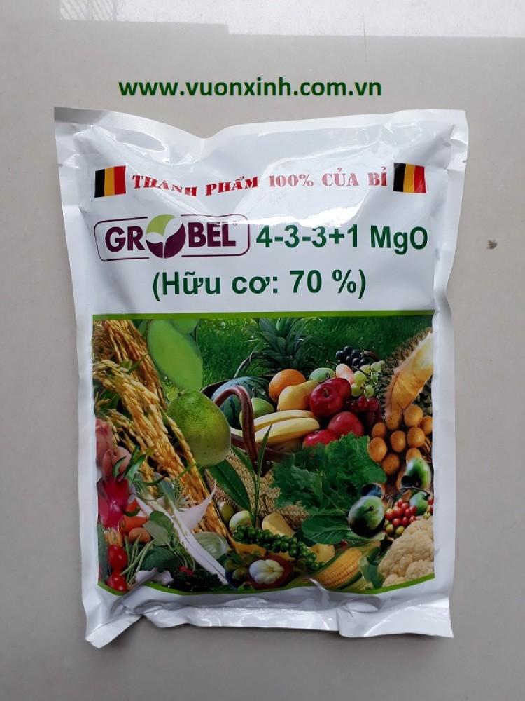 Phân Hữu cơ BỈ GROBEL (4-3-3+1 MgO) 2kg