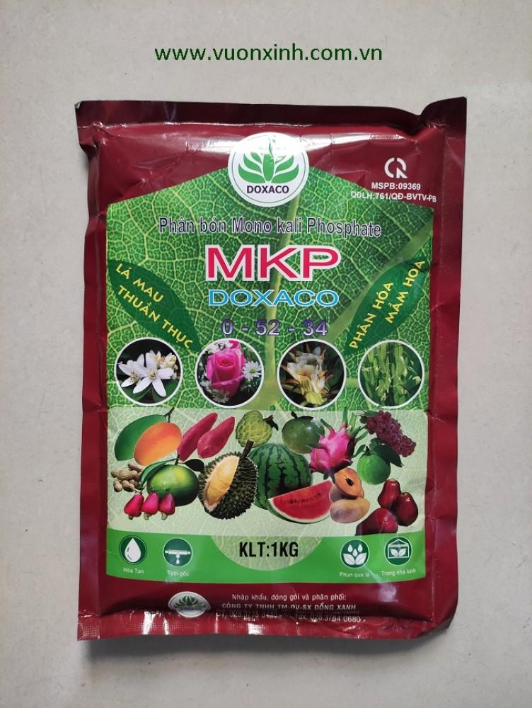 Phân bón MKP từ Israel 0-52-34 gói 1kg