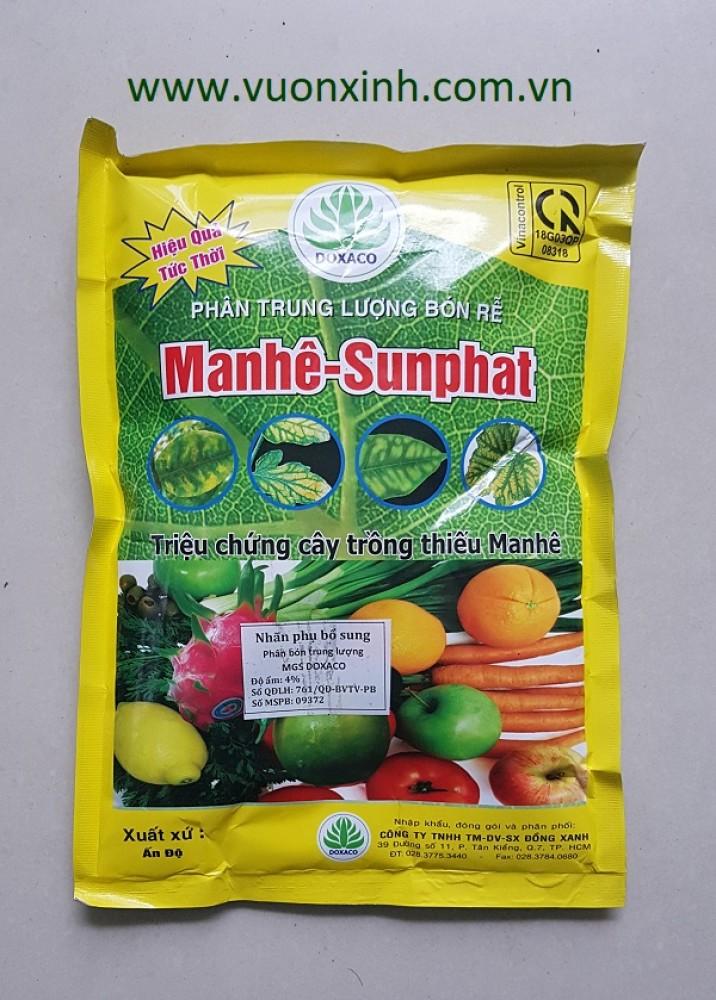 Phân bón rễ Manhê - Sunphat