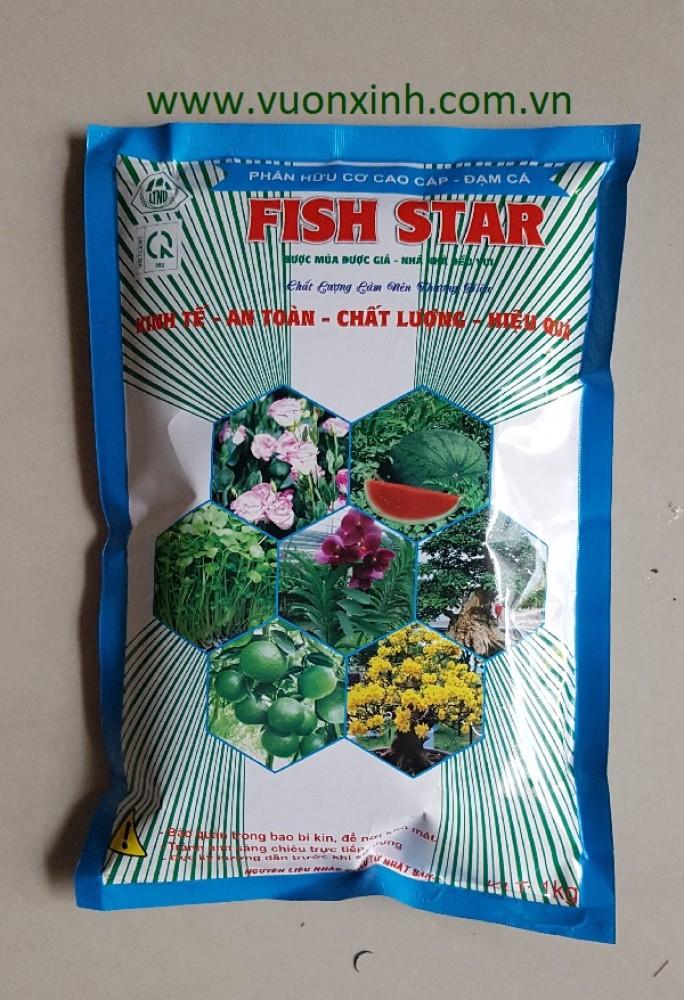 Phân Đạm cá FISH STAR _ 1KG