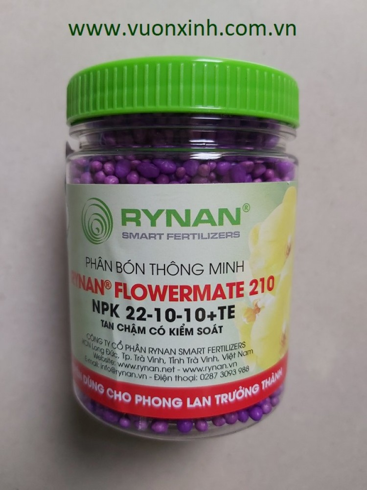 Phân tan chậm Rynan 22-10-10+TE (150gr).