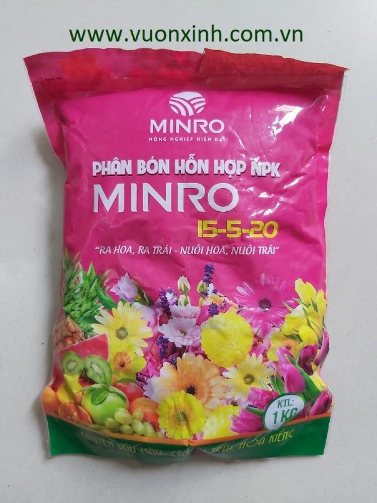 Phân tím MINRO 15-5-20 (1KG)