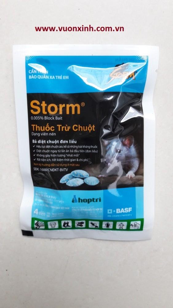Diệt chuột Storm (1 gói 4 viên)
