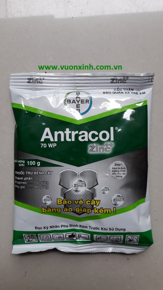 Thuốc diệt nấm ANTRACOL 70WP