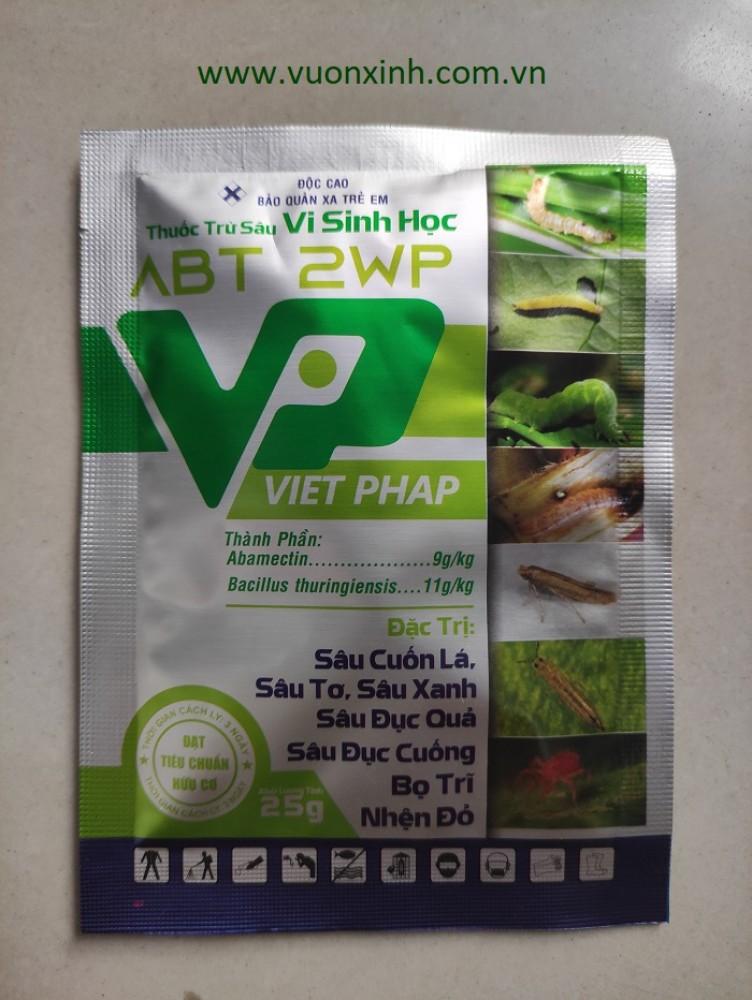Thuốc trừ sâu sinh học ABT 2WP