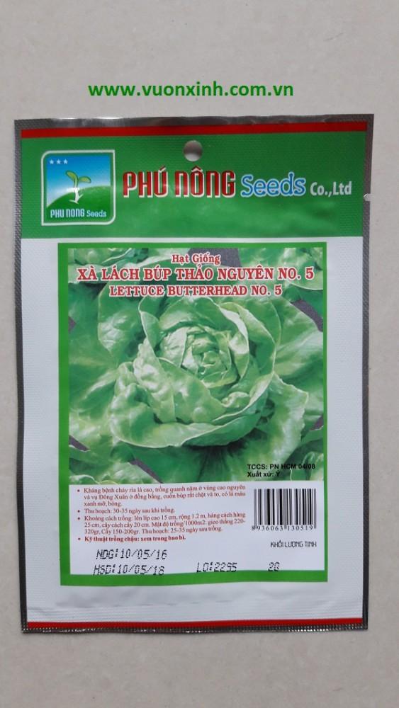 Xà lách búp Thảo Nguyên TN