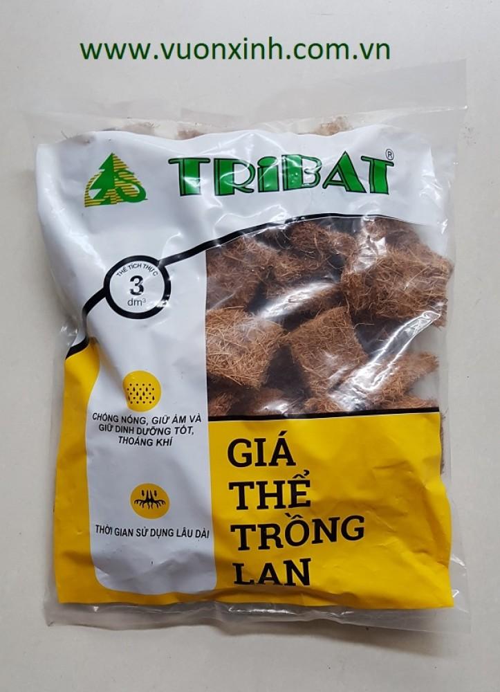 Xơ dừa miếng trồng Lan TRIBAT